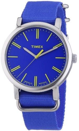 Timex Originals Classic Round Analog Quarz Nylon T2P362