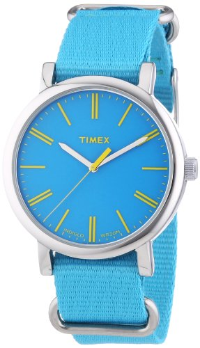 Timex Originals Classic Round Analog Quarz Nylon T2P363
