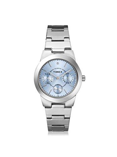 Timex Damen Saphirglas Datum Uhr T2N973
