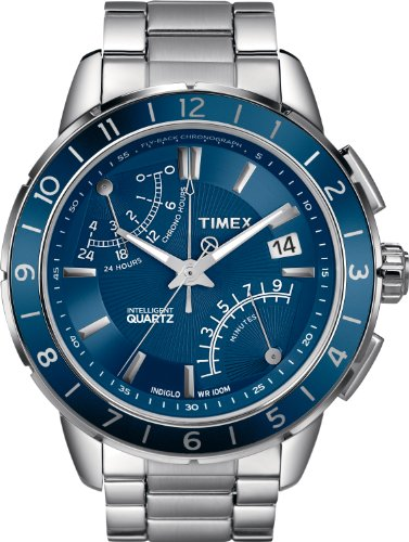 Timex Analog Edelstahl Silber T2N501AU