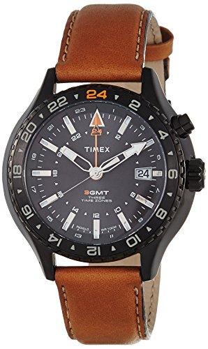 Timex Man Iq Mns Gmt Analog Quarz T2P427