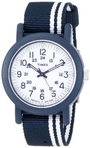 Timex Herren Armbanduhr XL Camper Modern Heritage Analog Nylon T2N325