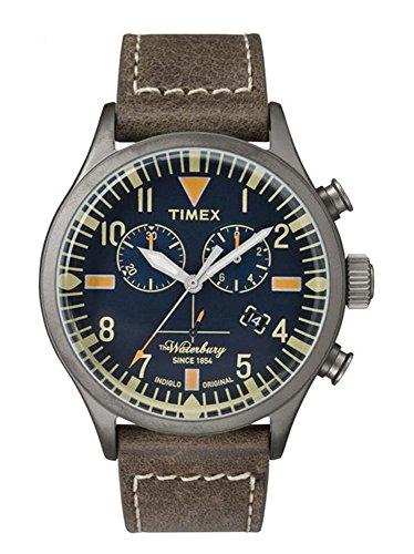 Timex Chronograph Quarz Leder TW2P84100