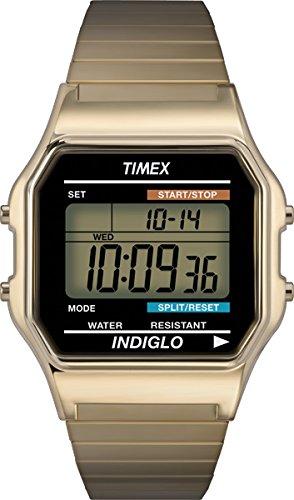 Timex Digital Quarz Edelstahl T78677PF
