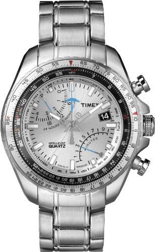 Timex Intelligent Quartz Analog Quarz Edelstahl T2P104
