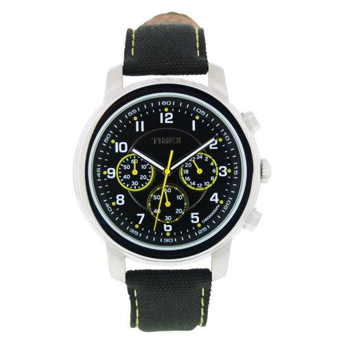 Timex Herren Armbanduhr XL Milan Chronograph Chronograph Nylon 6602N163