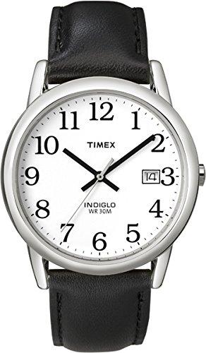 Timex Weiss Analog Leder T2H281D7