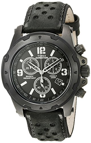 Timex Herren tw4b014009j Expedition Rugged Analog Display Quartz Black Watch