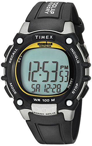 Timex Ironman Herren 100 Lap Flix Herren Black Yellow Highlights