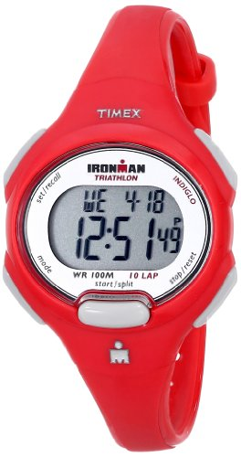 TIMEX IRONMAN 10 LAP MID SIZE WATCH CORAL