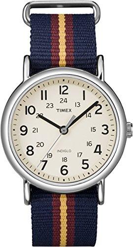 Timex Unisex Armbanduhr Analog Quarz Kunststoff T2P234PF