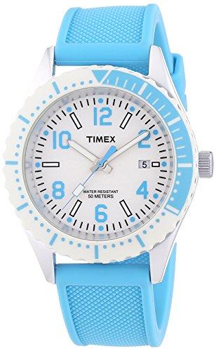 Timex Unisex Armbanduhr Style Analog Quarz Silikon T2P006