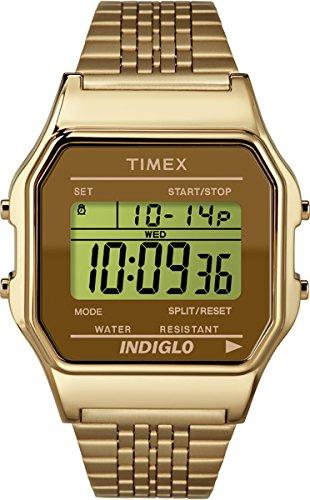 Timex Unisex Armbanduhr Digital Quarz Edelstahl TW2P48700
