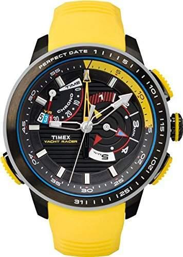Timex Herren-Armbanduhr Analog Quarz Plastik TW2P44500