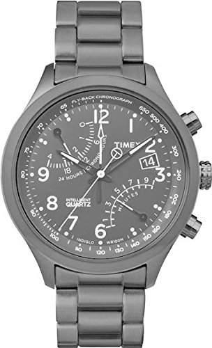 Timex Herren-Armbanduhr Analog Quarz Edelstahl TW2P60800