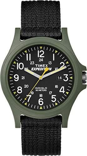 Timex Unisex-Armbanduhr Analog Quarz Textil TW4999800