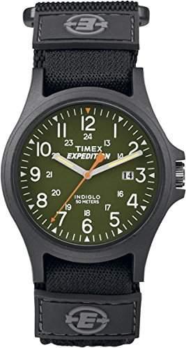 Timex Unisex-Armbanduhr Analog Quarz Textil TW4B00100