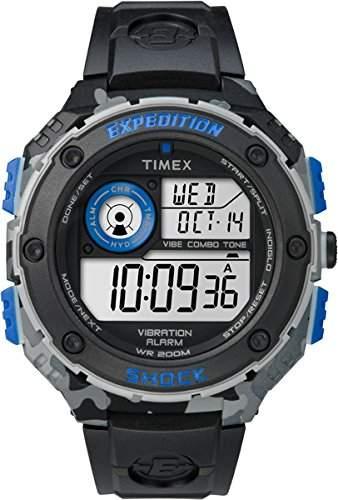 Timex Herren-Armbanduhr Digital Quarz Plastik TW4B00300