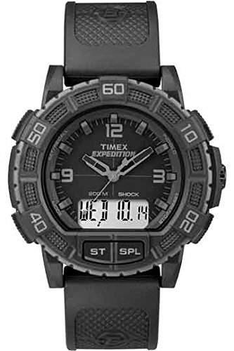 Timex Herren-Armbanduhr Analog - Digital Quarz Plastik TW4B00800