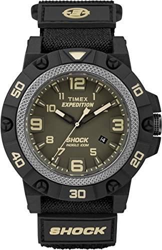 Timex Herren-Armbanduhr Analog Quarz Textil TW4B00900
