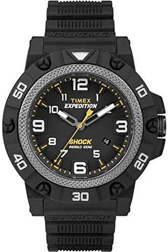 Timex Herren-Armbanduhr Analog Quarz Kautschuk TW4B01000
