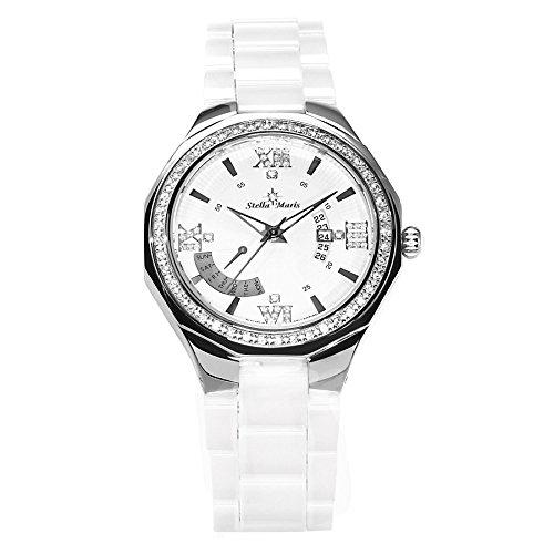 Stella Maris Analog Quarz Premium Keramik Diamanten STM15Y2