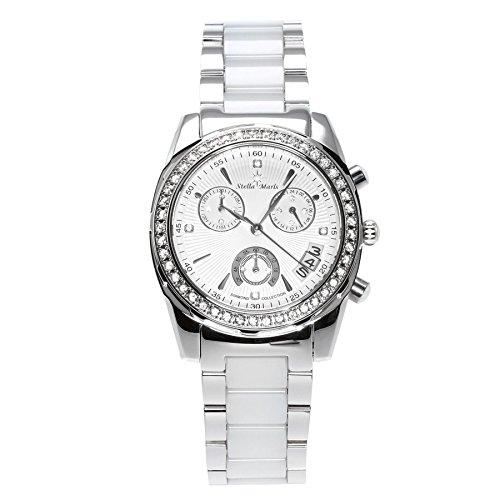 Stella Maris Analog Quarz Premium Keramik Diamanten STM15L9