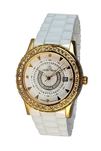 Stella Maris Analog Quarz Premium Keramik Diamanten STM15Z5