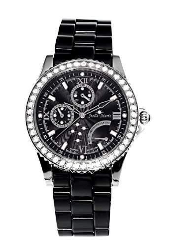 Stella Maris Damen-Armbanduhr Analog Quarz Premium Keramik Diamanten - STM15N2