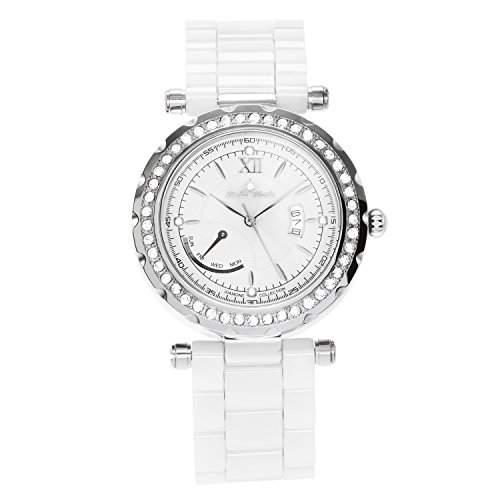Stella Maris Damen-Armbanduhr Analog Quarz Premium Keramik Diamanten - STM15R9