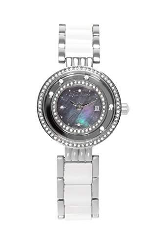 Stella Maris Damen-Armbanduhr Analog Quarz Premium Keramik Diamanten - STM15SM13