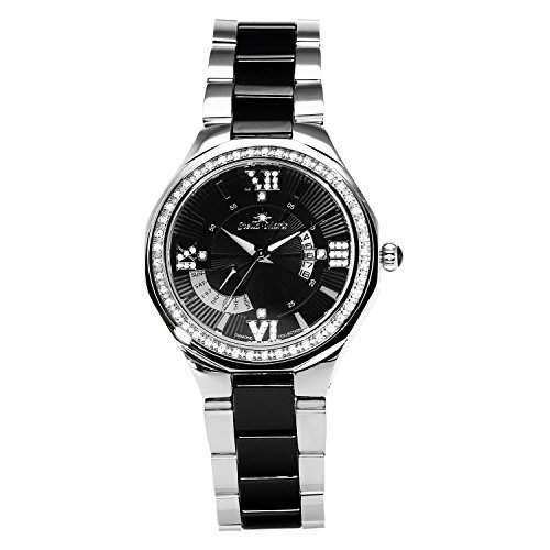 Stella Maris Damen-Armbanduhr Analog Quarz Premium Keramik Diamanten - STM15Y3