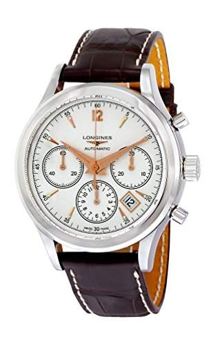 Longines Heritage Chronograph Automatic Stainless Steel Mens Strap Watch Calendar L27504762