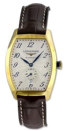 Longines Herren-Armbanduhr Automatik Leder L26426732