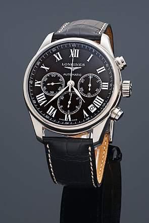 Longines Herren-Armbanduhr Chronograph Automatik L26934517