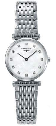 Longines La Grande Classique Stainless Steel Womens Watch Mother-of-Pearl Dial L42094876