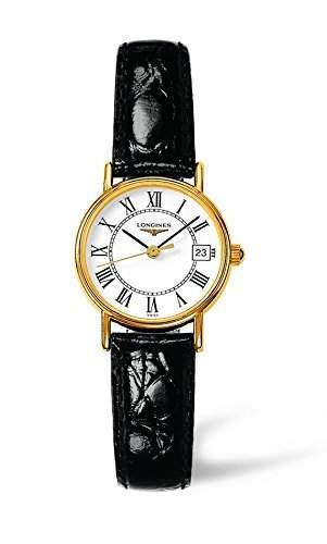 Longines Damen-Armbanduhr Analog Quarz Leder L42202112