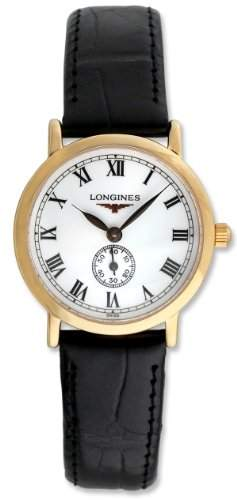 Longines Flagship Heritage 18kt Rose Gold Womens Luxury Strap Watch L42918212
