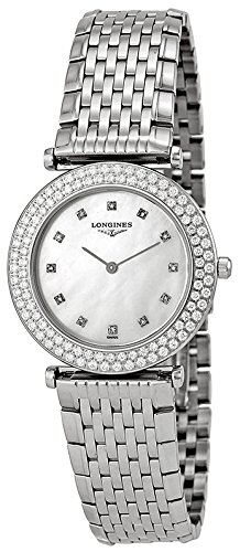 Longines La Grande Classique Stainless Steel Womens Watch Mother of Pearl Dial L4 308 0 87 6