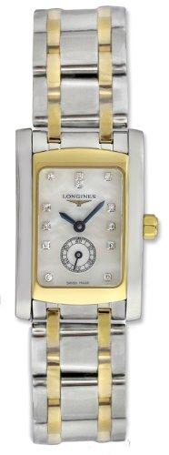Longines Dolce VITA Edelstahl zweifarbig 18 K Gold Damen l5 155 5 08 7