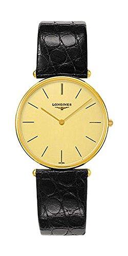 Longines La Grande Classique 18K Solid Gold Mens Strap Watch L4 691 6 32 2