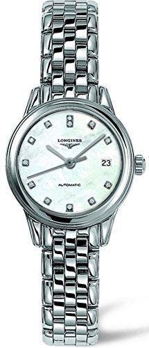 Longines Les Grandes Classiques Damen 26mm Mineral Glas Datum Uhr L42744876