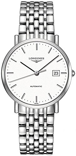 Longines Herren 37mm Automatikwerk Saphirglas Datum Uhr L48104126