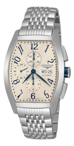 Longines Herren L27014786 Evidenze Silber Chronograph Zifferblatt
