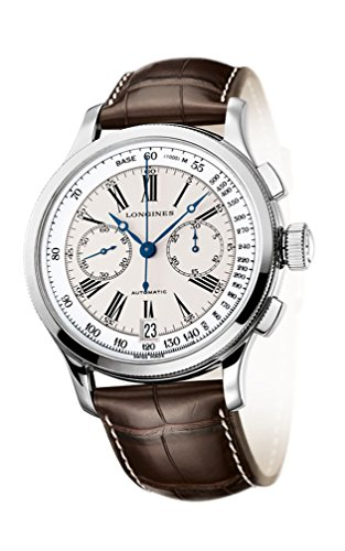 Longines Heritage Lindberghs Atlantic Voyage Automatic Chronograph Steel Mens Watch L2 730 4 78 0