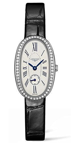 Longines Symphonette Medium Steel Diamond Womens Strap Watch L2 306 0 71 0