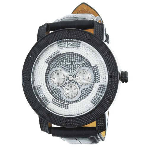 Iced Out Bling Fashion Uhr FANCY schwarz