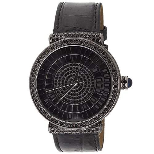 High Quality Bling Master FULL ICED OUT INFINITO Uhr schwarz