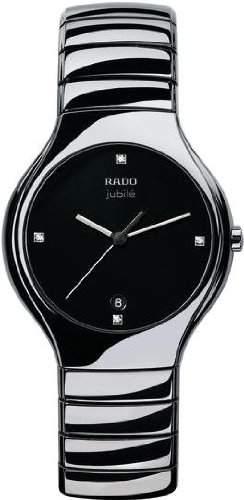 Rado Herren-Armbanduhr XL Analog Quarz Keramik 11506543074