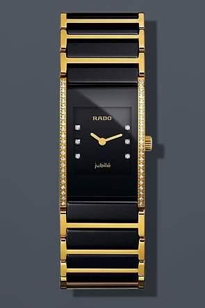 Rado Damen-Armbanduhr Analog Quarz Keramik 15307533075